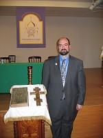 George Temidis at the IV All-Diaspora Council